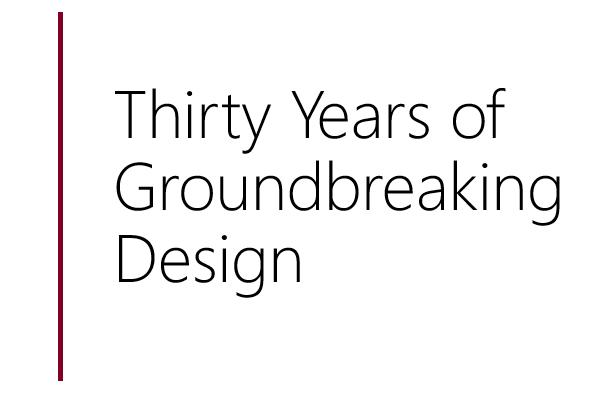 three decades of british clothing design